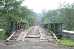tinjomoyo bridge by blur-stock