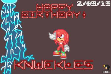 Happy 25th Anniversary, Knux!