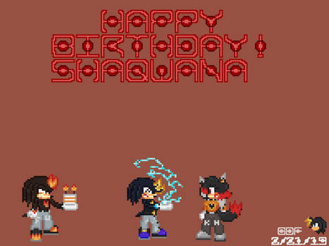 Sha's Birthday Surprise