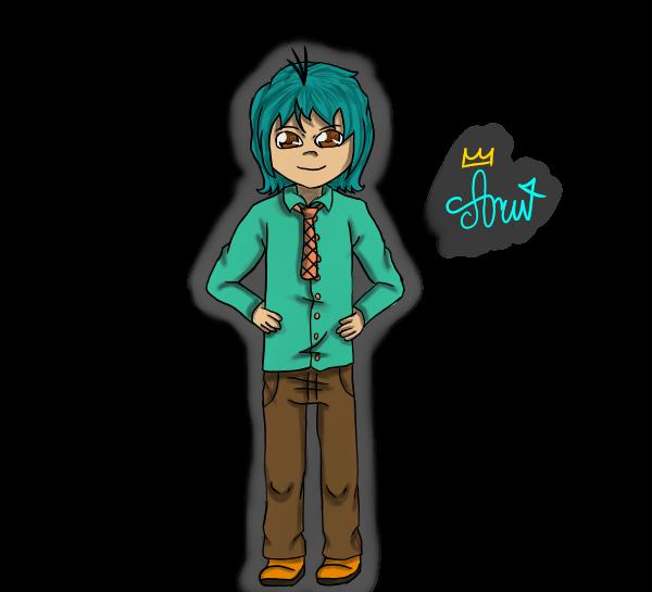 Perry the human by aruNaoru