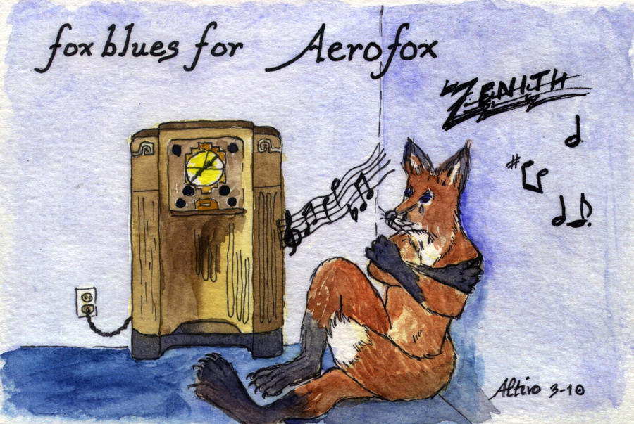 Fox Blues by altivo