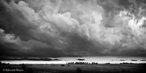 Thunderstorm in Iowa by HayesPhoto