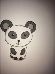 Panda by kawrtilla