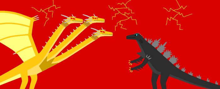 Yakobuverse: Godzilla Vs King Ghidorah