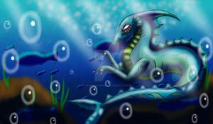 Rina the Ocean Dragon