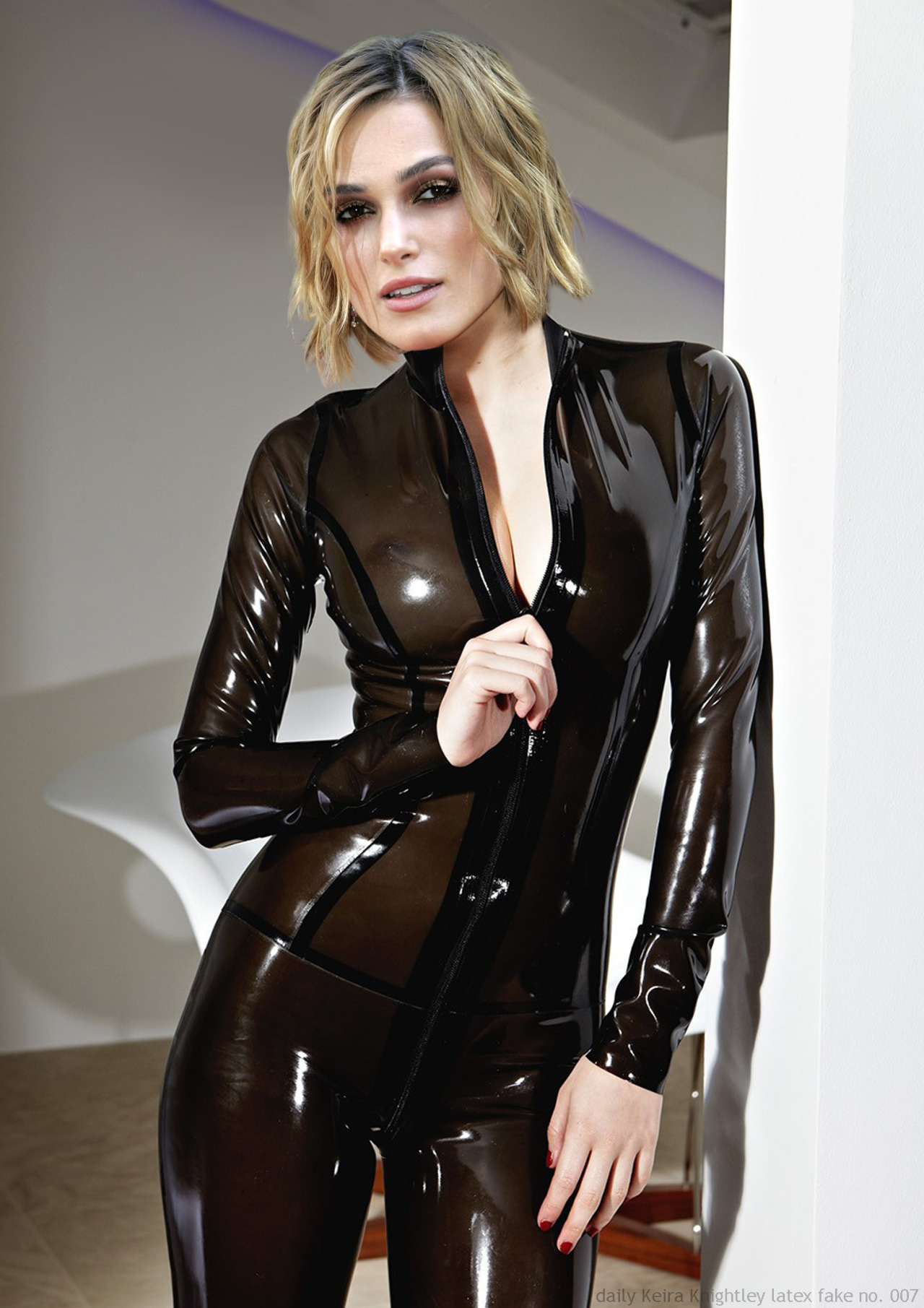 Keira Knightley latex fake no. 007 by ElisabetaM