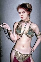 Rose Leslie slavegirl fake