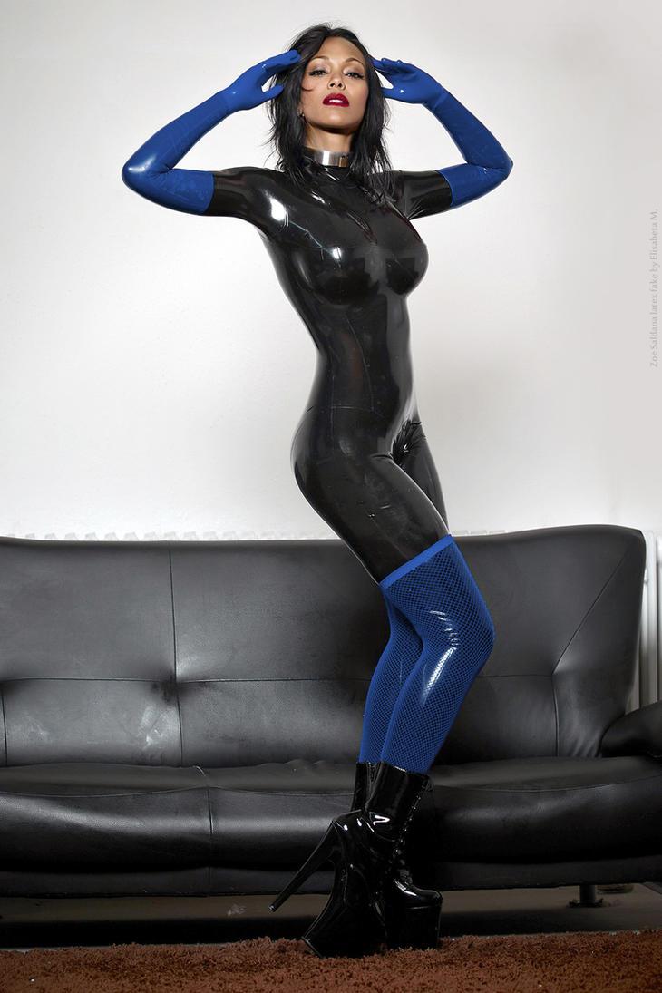 Zoe Saldana Fake 65