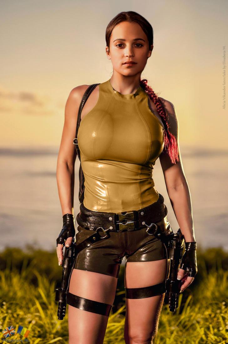 Lara Croft Latex
