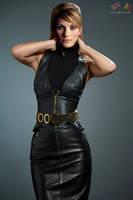 Jodie Whittaker leather fake 02 v01 by ElisabetaM