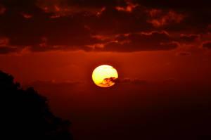 Bloodied Sky by gotya321