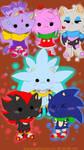 Sonic : Chibi by shallowdeepcreation