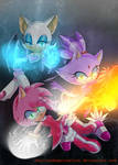 Blaze Amy and Rouge