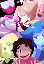 Steven Universe : We are the Crystal Gems!