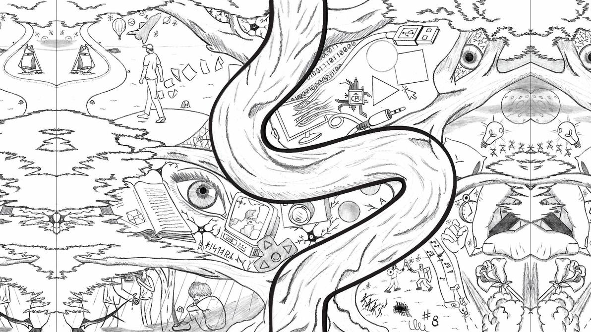 Tree of my life by error-man