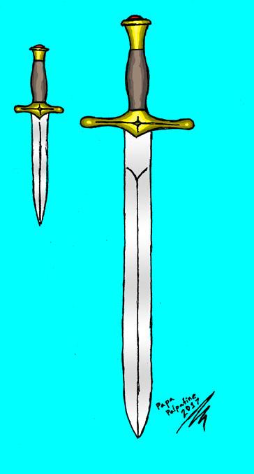 Sword And Dagger Set