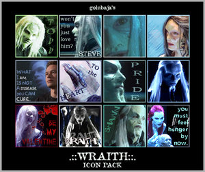 Wraith Icon Pack by The-Art-of-Stargate
