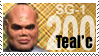 SG-1 200 Teal'c by The-Art-of-Stargate