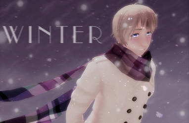 [MMD] Winter by MonochromeIllusion