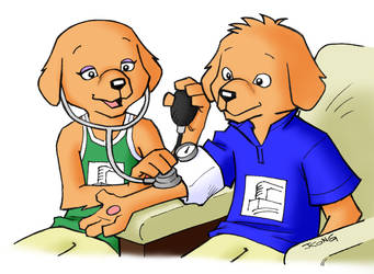 Blood Pressure by JerryKongArt