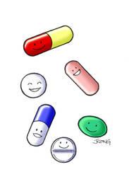 Pills by JerryKongArt