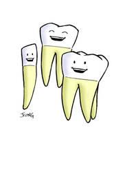 Teeth by JerryKongArt