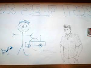 Self Portraits - Before