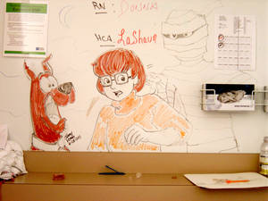 Velma, Scooby, Mummy