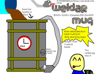 WeldarMugDesign byWondercheese by RareWitchProject