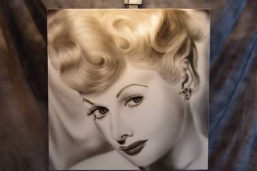 Lucille Ball by KeithShepherdArt