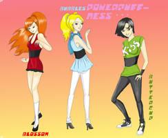 Powerpuff Girlz by VirotenKG