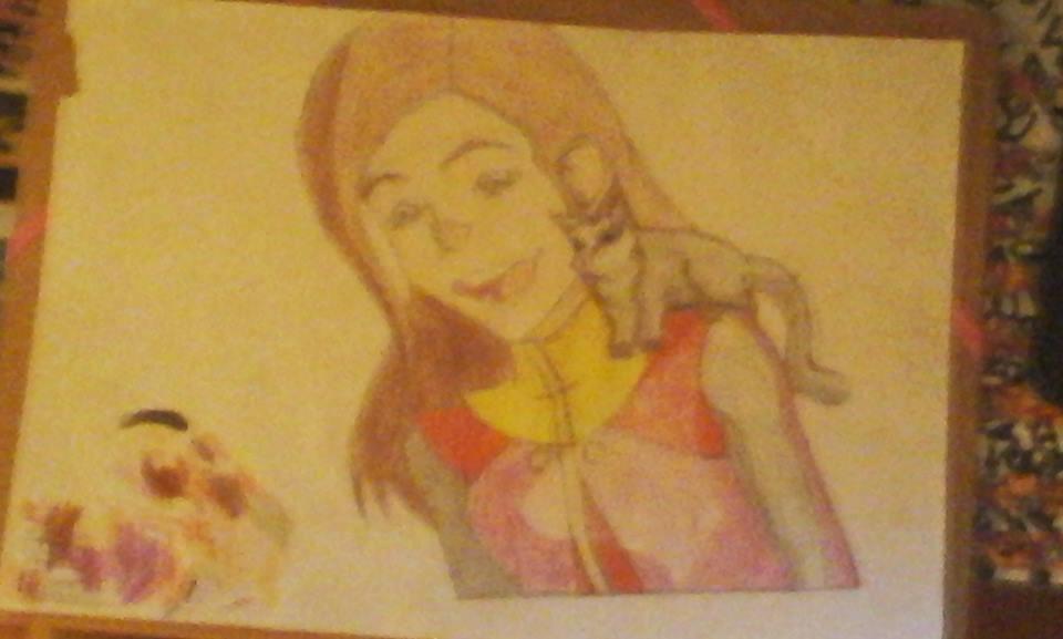 De kleine zusje van Milou by Milouavatar2