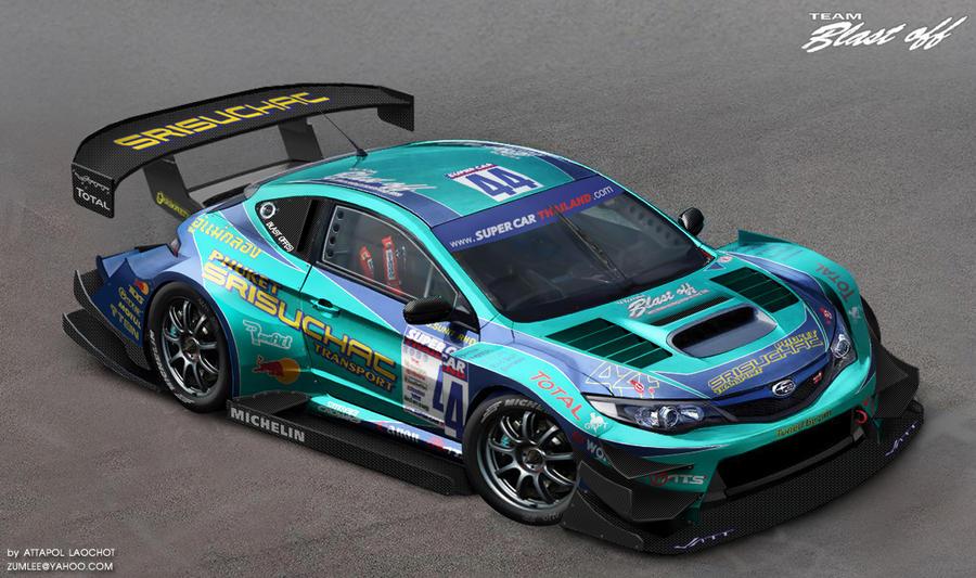 Subaru Premium 2014 >> Subaru Impreza Race Car by Zumlee on deviantART
