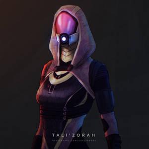Mass Effect - Tali