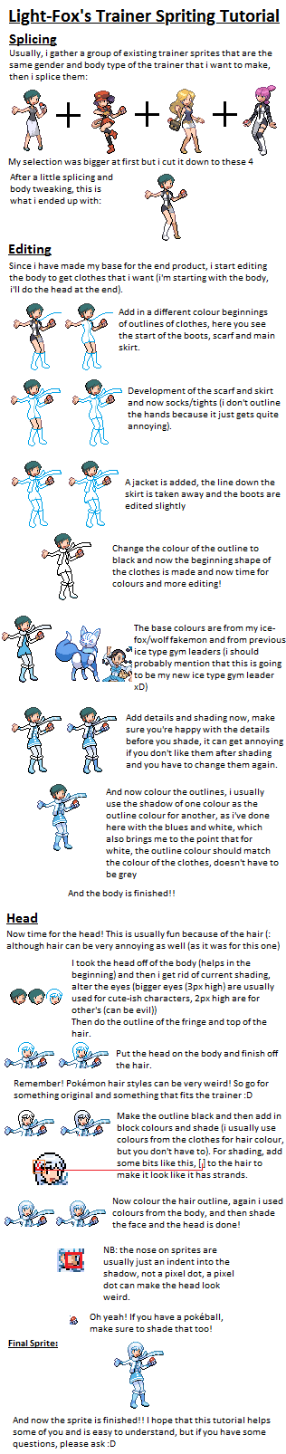 Trainer Sprite Tutorial by Light-Fox