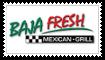 Baja Fresh Stamp by XGBlue