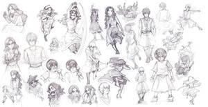 zuko katara scribbles 2 by cwutieangel