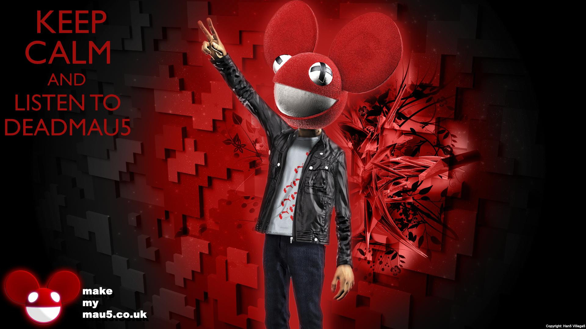 deadmau5 music red wallpaper - photo #37