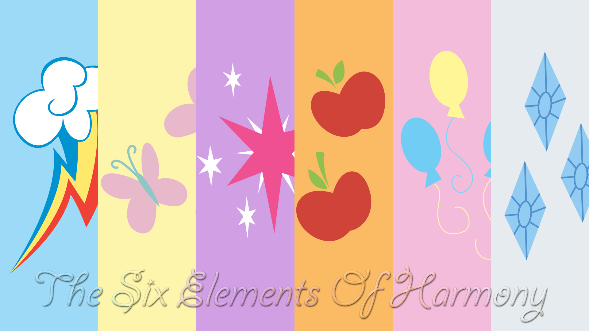 6 Elements Of Art : The six elements of harmony by bluedragonhans on deviantart