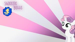 Sweetie Belle Wallpaper by BlueDragonHans