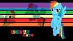 Rainbow Dash So Awesome Wallpaper