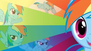 Rainbow Dash 20 Percent More Cooler Wallpaper