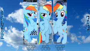 Rainbow Dash 'Technologic Sky' Wallpaper