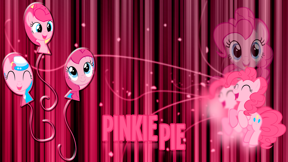 Pinkie Pie 'Abstract Lines' Wallpaper by BlueDragonHans