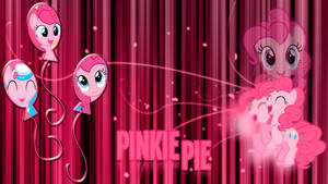 Pinkie Pie 'Abstract Lines' Wallpaper