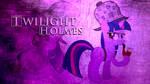Twilight 'Holmes' Sparkle Wallpaper