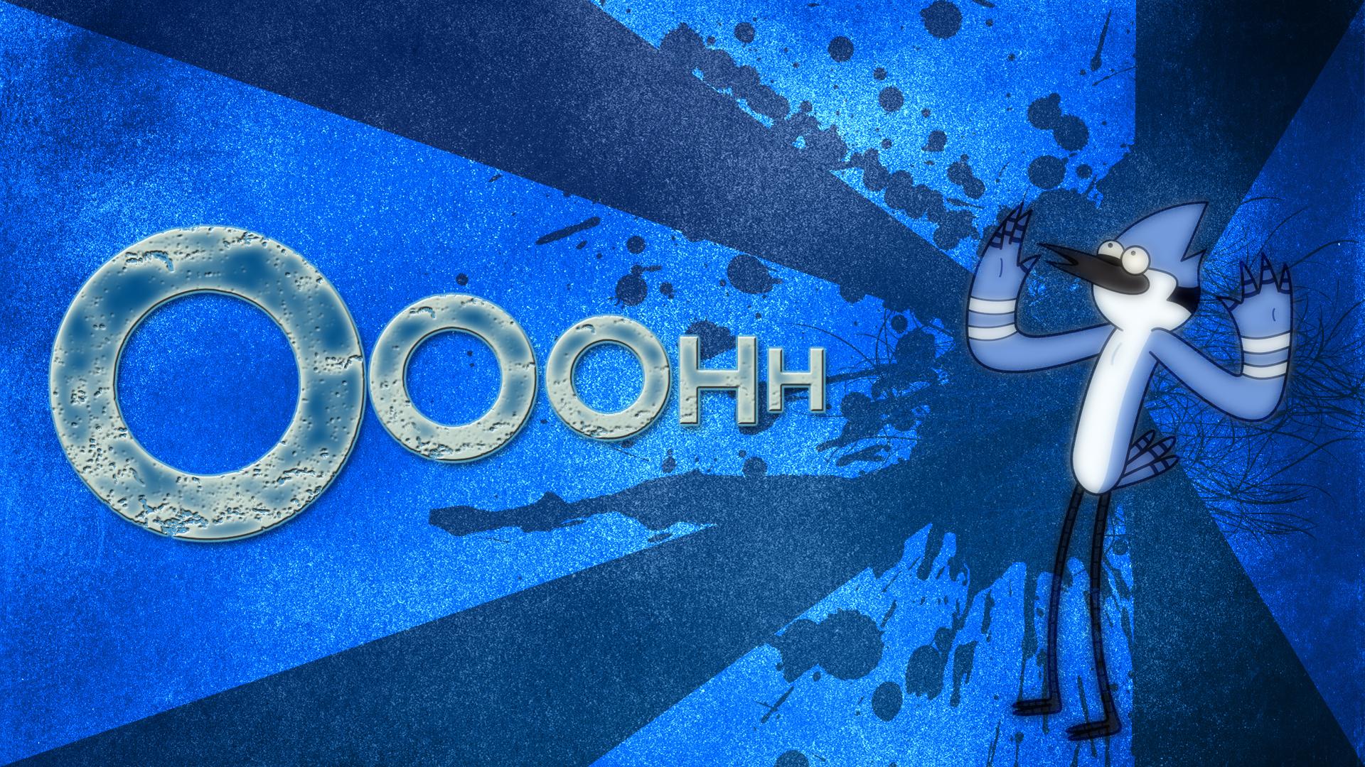 Mordecai Ooohh Wallpaper By BlueDragonHans