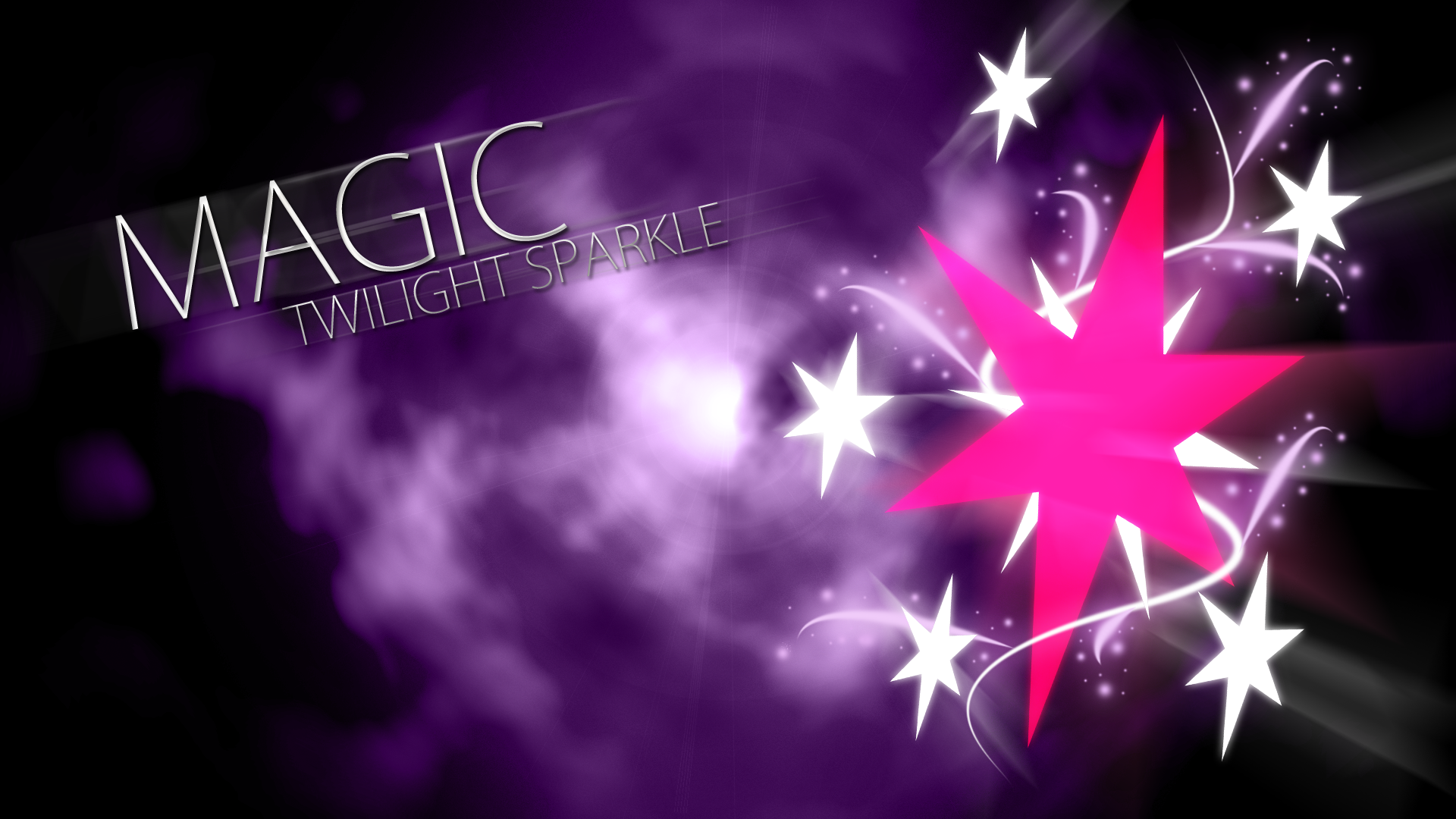 Twilight sparkle magic cutie mark wallpaper by - My little pony cutie mark wallpaper ...