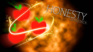 Applejack Honesty Cutie Mark Wallpaper