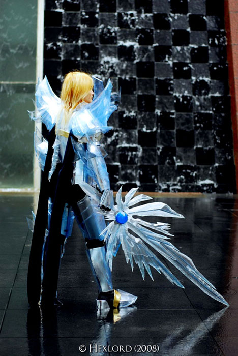 The Icy Warrior II by pinkyluxun